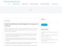 Maedacabecaaospes.com.br - Mãe da Cabeça aos Pés - Maternidade e etc Mãe da Cabeça aos Pés