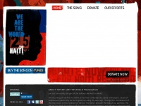 Wearetheworldfoundation.org - Official Site of We Are The World 25 For Haiti