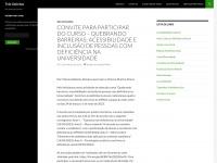 Tresgotinhas.com.br - Três Gotinhas | Um blog para deficientes visuais