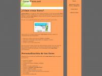 Crearforos.net - Quieres crear foros?  Para crear foros,  ve en Foroactivo.com