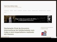 tudoparaminhacuba.wordpress.com