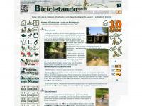 Bicicletando por Todos os Trilhos - Página principal