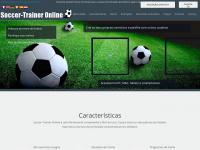 Exercicios de futebol, treinamento para futebol Soccer-Trainer Online