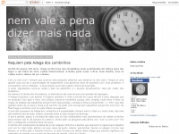 nemvaleapenadizermaisnada.blogspot.com