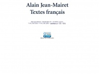 Ajm.ch - Alain Jean-Mairet