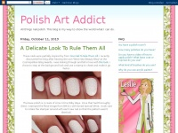 Polishartaddict.com - Polish Art Addict – All things nail polish. This blog is my way to show the world what I can do.