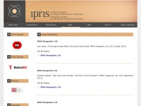 IPRIS - Portuguese Institute of International Relations and Security