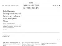 Iar-gwu.org - International Affairs Review | Elliott School -- George Washington University