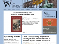 Winst.org - The Witherspoon Institute | An independent research center in Princeton, New Jersey.