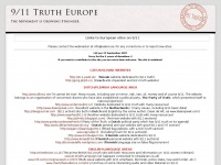 9/11 Truth Europe | Welcome to 911truth.eu