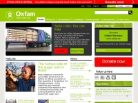 Oxfam.org - The power of people against poverty | Oxfam International