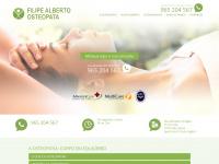 Filipe Alberto - Consultorio de Osteopatia em lisboa