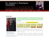 Osteopata-augustojhenriques.com - Osteopata Augusto J Henriques