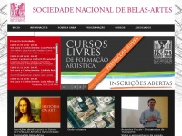 Snba.pt - Sociedade Nacional de Belas Artes