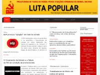 Lutapopularonline.org - Luta Popular