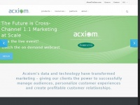 Acxiom.com - Identity Resolution & People-Based Marketing | Acxiom