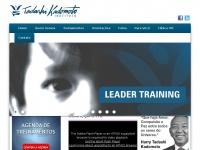 Instituto Tadashi Kadomoto – Treinamentos, Leader Training , Transcendendo Seus Limites, Acreditando em Você, Renascendo com Amor, Família Silva e outros!