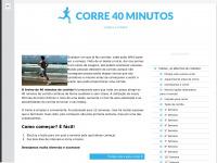 Corre 40 minutos | Começa a correr