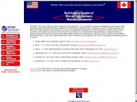 Wcisaonline.org - WCISA - Wire & Cable Industry Suppliers Association - Mission