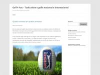 Golf 4 You - Tudo sobre o golfe em português