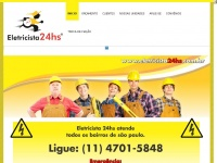 eletricista24hs.com.br