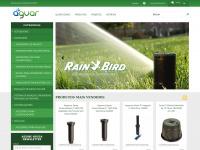 Aguar sistema de irrigação