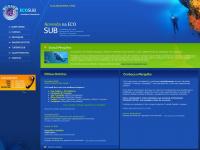 Ecosub.com.br - Mergulhos Ecosub | Atividades Subaquáticas | Curitiba - Paraná