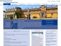 Ejil.org - EJIL Homepage