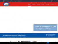 Fariaeresendes.pt - Alumínios Faria & Resendes SU, Lda  - Ponta Delgada, s.miguel, Açores | Todo o tipo de serviços em alumínios  - Inicio