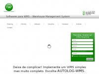 TWx | Software AUTOLOG WMS - Soluções Modulares