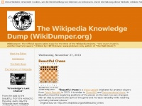 Wikidumper.blogspot.de - The Wikipedia Knowledge Dump (WikiDumper.org)