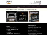 Churrasqueiras | Lareiras | Fornos - Empório do Lazer 11 3801-2564