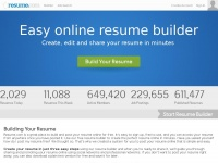 Easy Resume Builder - Free Resumes to Create & Download | Resume.com