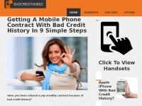 Badcreditmobile.com - Getting A Mobile Phone Contract With Bad Credit History In 9 Simple Steps - badcreditmobiles