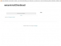 wearenotthedead.blogspot.com