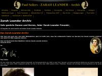 Zarahleander.de - Paul Seilers ZARAH LEANDER Archiv, mit über 3000 Bildern