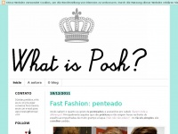 whatisposh.blogspot.com