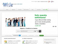 Wide.it - hosting web spazio joomla wordpress | registrare domini