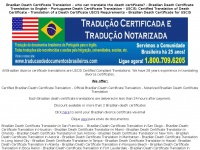 braziliandeathcertificatetranslation.com