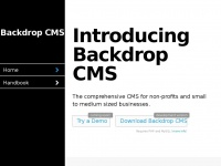 Backdropcms.org - Backdrop CMS | Backdrop CMS