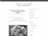 Deusescombros.blogspot.com - deus e outros escombros