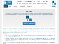 Ejls.eu - Home | EJLS - European Journal of Legal Studies