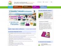 Annuaire-bien-etre.info - Sesames.fr, annuaire des thérapeutes et des médecines douces, stages, ateliers, conférences