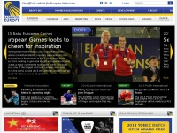 BadmintonEurope.com - Front page