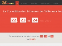 24heures.org - Festival des 24h de l'INSA