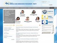 Aldeparty.eu - The Alliance of Liberals and Democrats for Europe (ALDE) Party