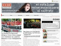 Ccoo.es - Confederación Sindical de Comisiones Obreras-Inicio