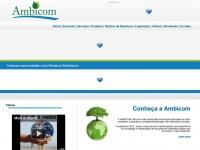 Ambicom || Tecnologia em Meio Ambiente || Rua dos Jasmins, 987 - São José dos Pinhais - PR || Fone: (41) 3382-5410
