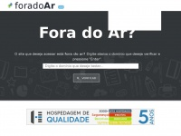 Foradoar.org - Fora do Ar?