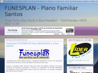 FUNESPLAN  -  Plano Familiar Santos
